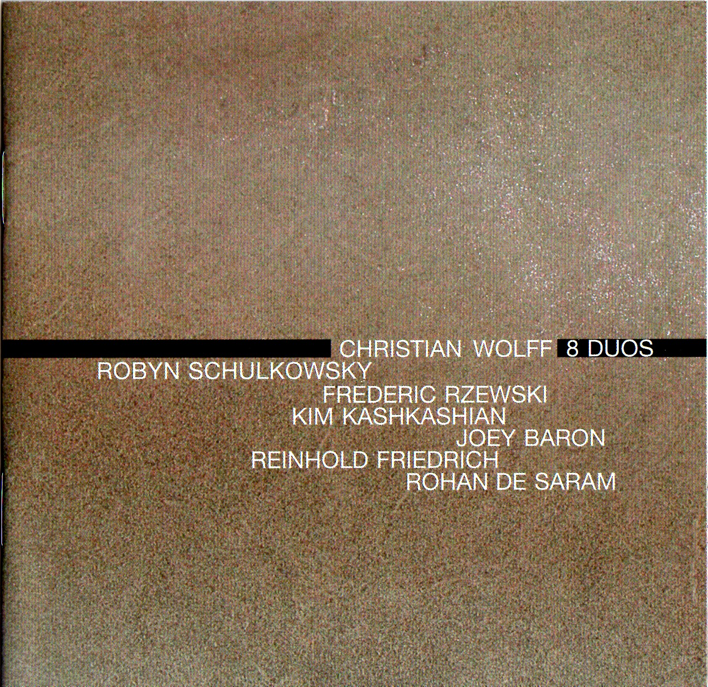 Christian Wolff CD