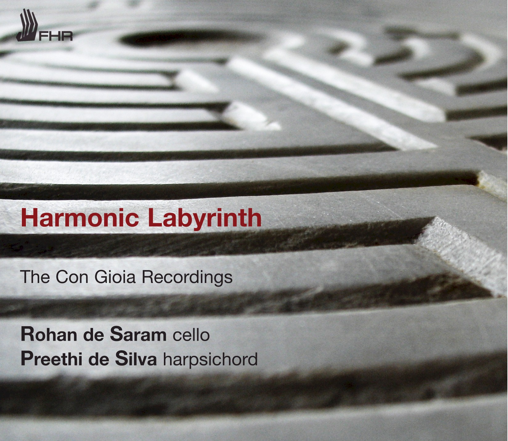Harmonic Labyrinth CD Cover