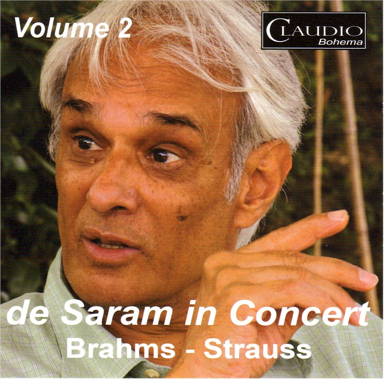 de Saram in Concert CD Cover