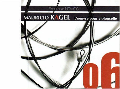 Kagel CD Cover