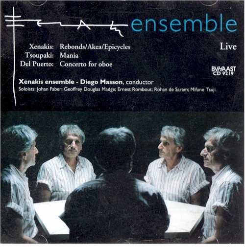 Xenakis Epicycless CD Cover